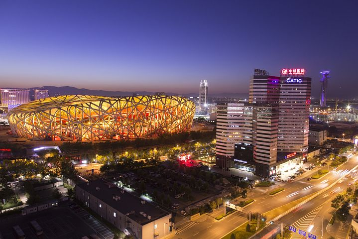 China's Olympic venues, the Bird's Nest