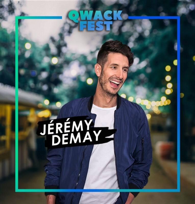 l'humoriste  Jeremy Demay  - #QwackAmbassadeur