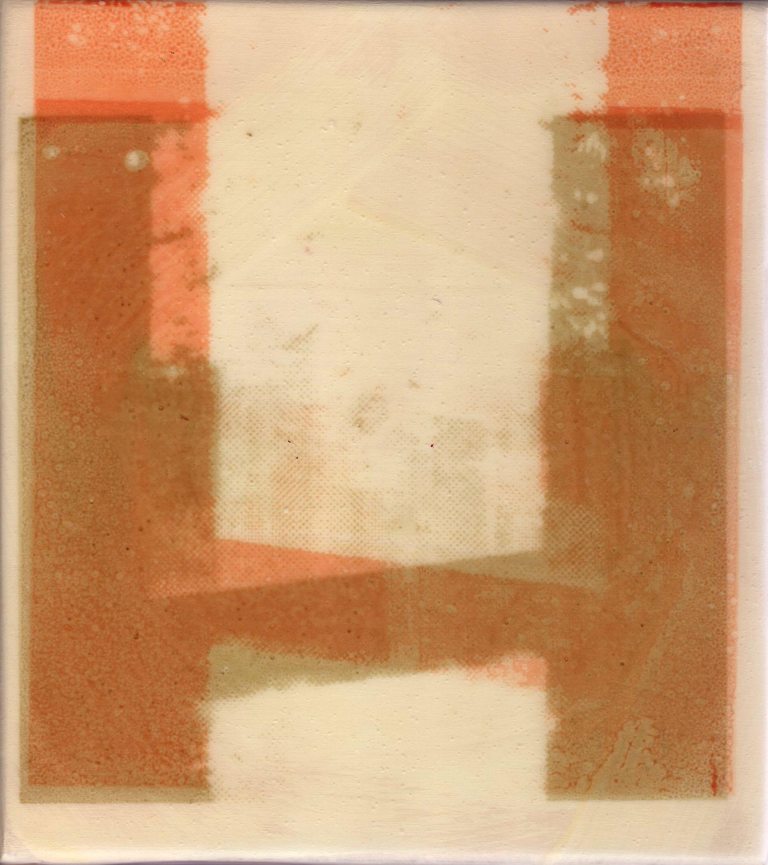 Lincoln Center sketch, silkscreen on acrylic, 2014
