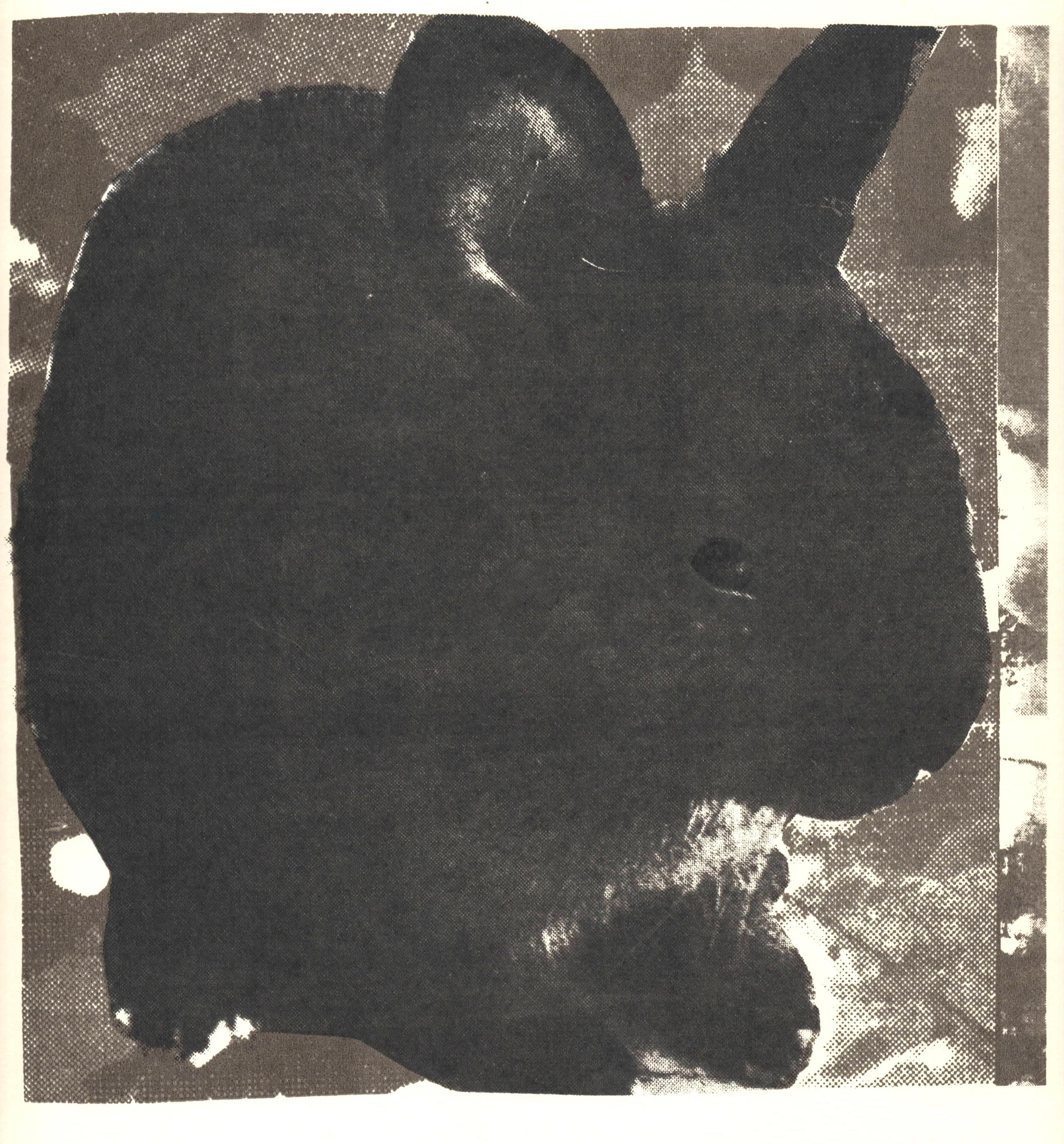 Black Bunnies, silkscreen, 2014