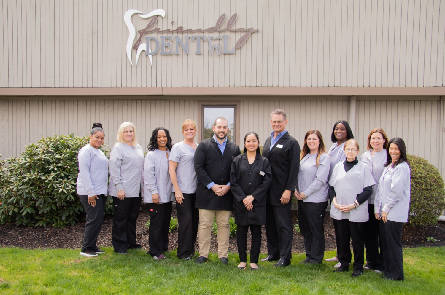 Meet the Team - At Friendly Dental it's our mission to help you enjoy beautiful and healthy smiles. Through a customized combination of preventive, restorative, and cosmetic procedures that use state-of-the-art technologies, you will be able to smile and laugh with confidence. We are proud to offer you personal attention in a warm and comfortable atmosphere. Our team always does its best to treat everyone well, we respect your feelings and concerns, and we try not to keep anyone waiting.