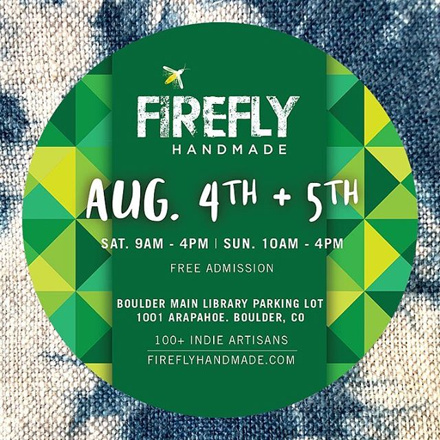 Hard at work in preparation for this weekend's @fireflyhandmade market. Join @jaspersocialclub outside the Boulder Public Library on Saturday and Sunday 9-4.