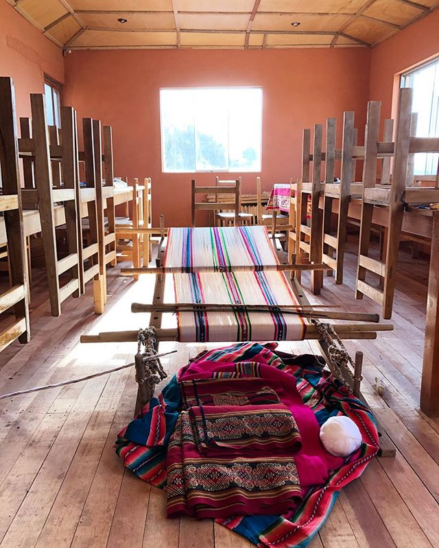Llachon, Puno, Lake Titicaca - When a young person here wants to get engaged, their family weaves intricate bags to give as gifts to their future in-laws.