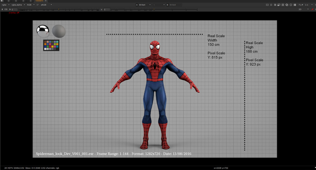 Option to add a grid and measure for your CG