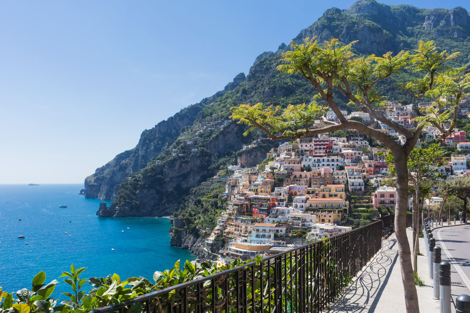 Positano Coast of Amalfi, Italy