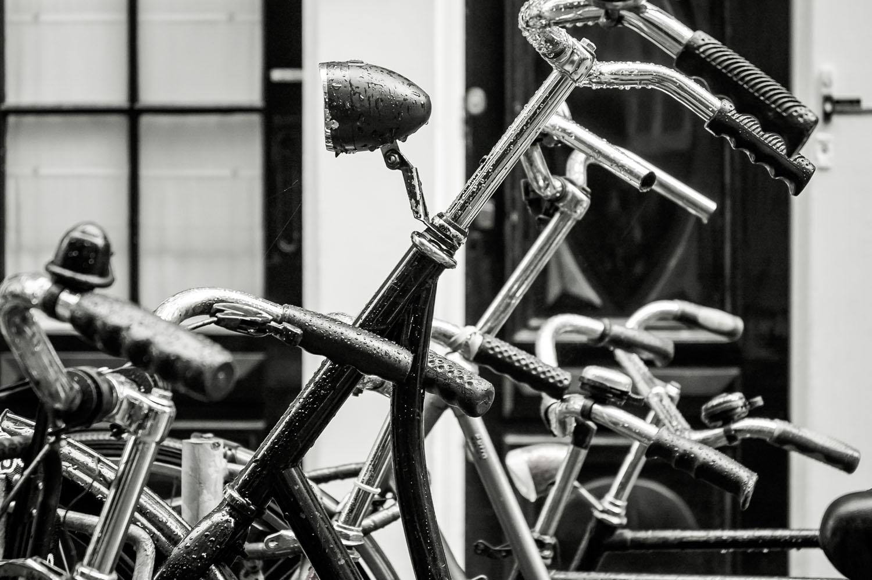 Bikes in Amsterdam, Holland