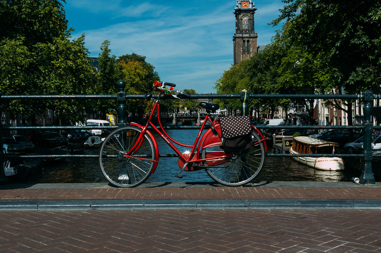 Bridge in Amsterdam, Holland