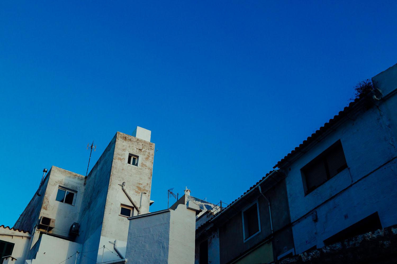 Old buildings in Menorca, Spain