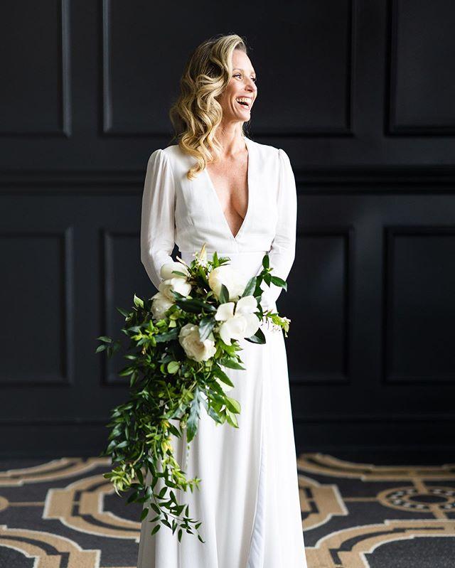 A favorite of Tally — a true beam of light! ✨✨✨ #beautyinsideandout #weddingday