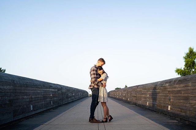 Beauties on a bridge for her birthday ✨🧁✨ #bdaypresent #sweetness