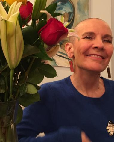 Buzz cut after chemo treatment #2. Photo by Dani McLaren