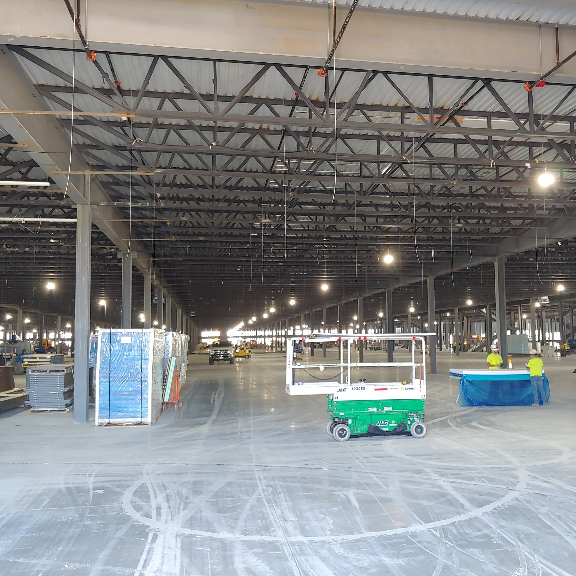 Highbays in the Ohio Distribution Center project