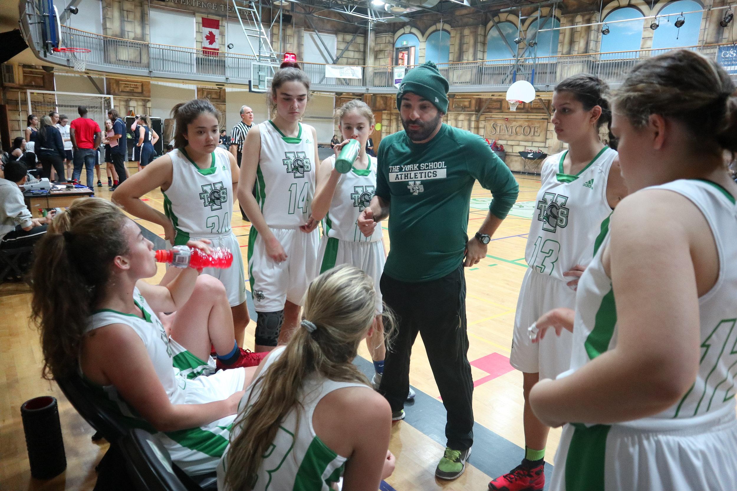 Senior Varsity Girls Basketball