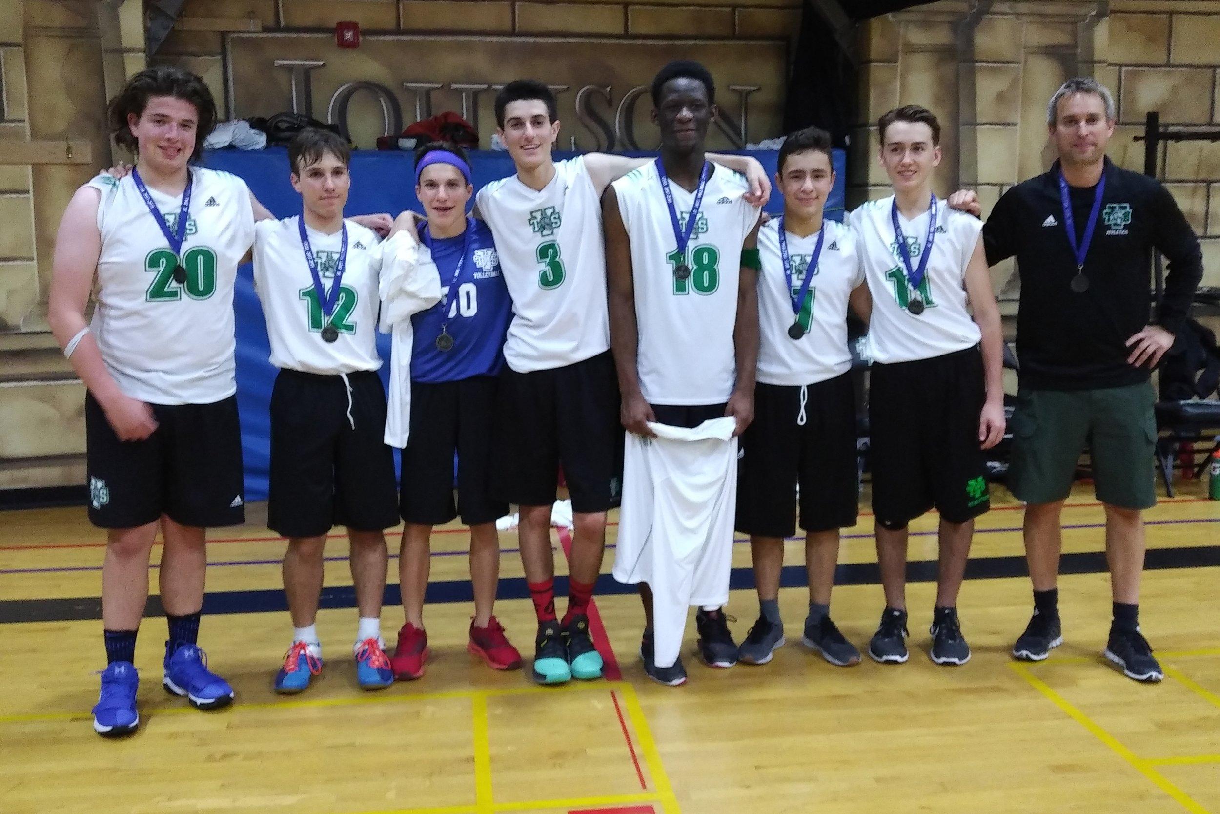 Senior Varsity Boys Volleyball