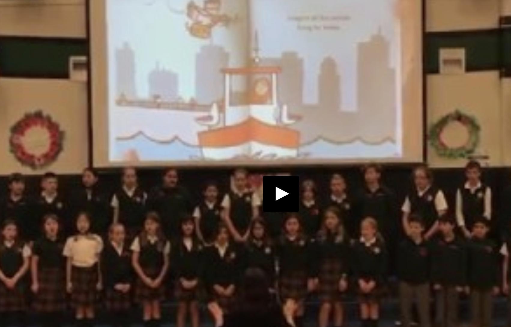 Remembrance Day Junior School Choir - John Lennon's Imagine