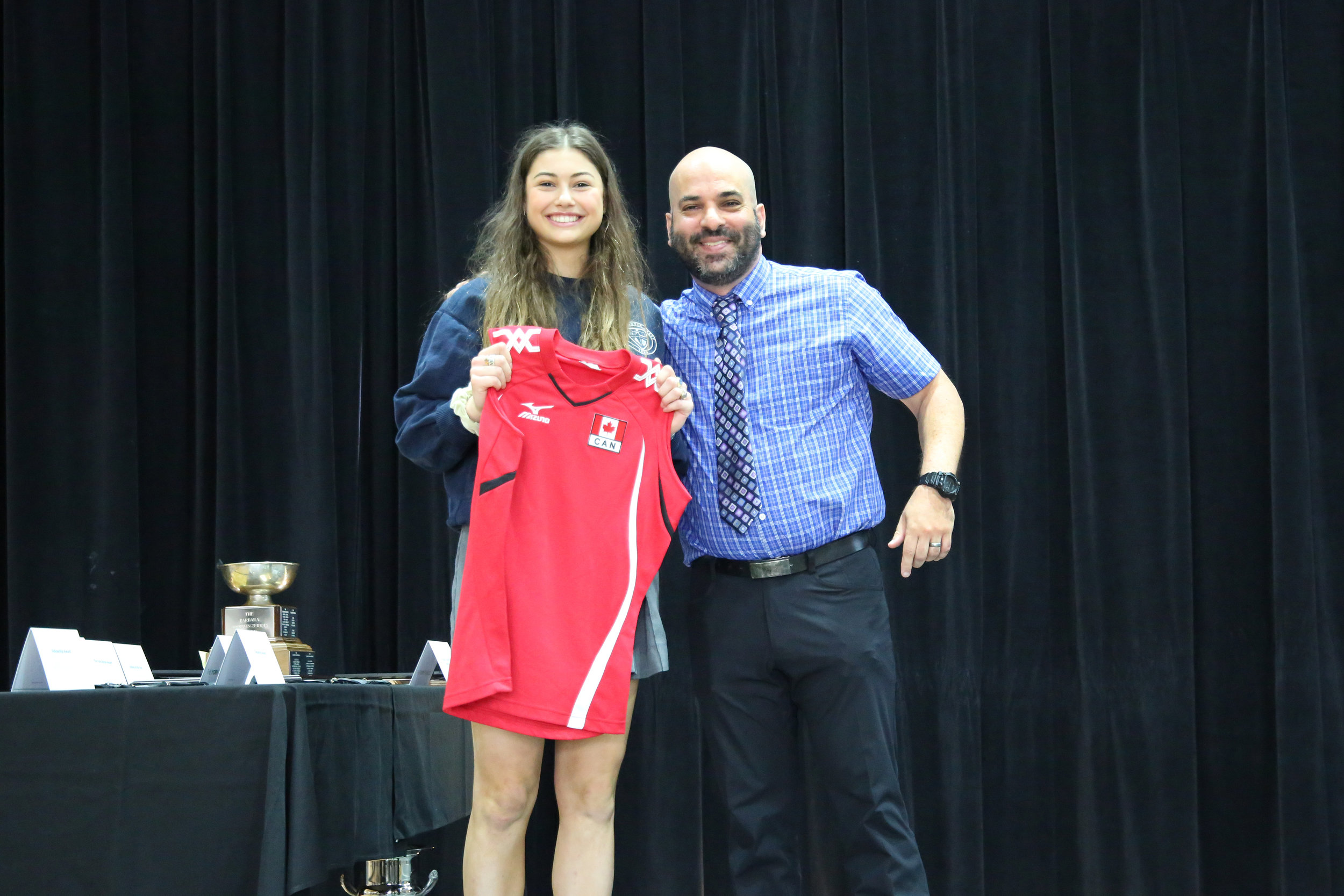 Overflowing with Gladiator Pride as student athlete Julia M earns her place on Team Canada's Female Youth National Volleyball Team. Congratulations Julia!