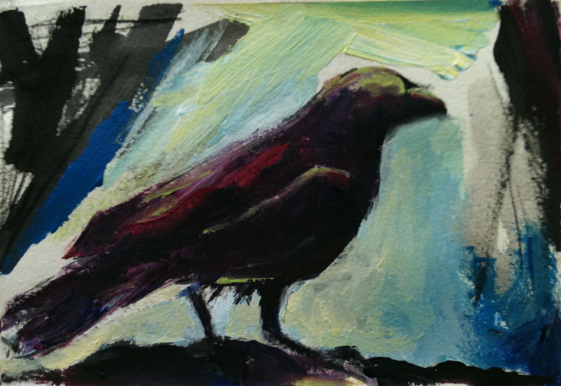 Raven at Midnight