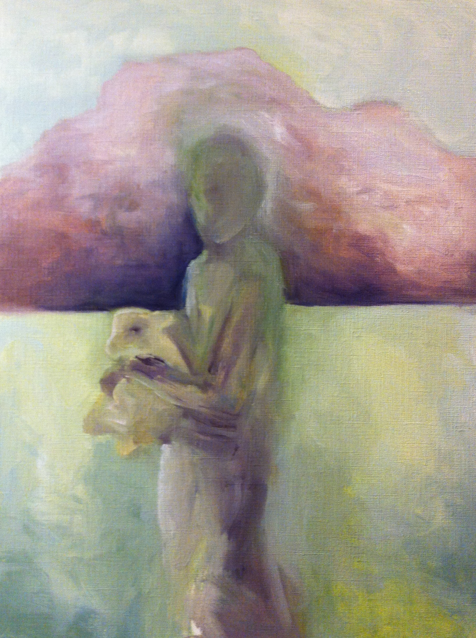 Woman and Lamb 5