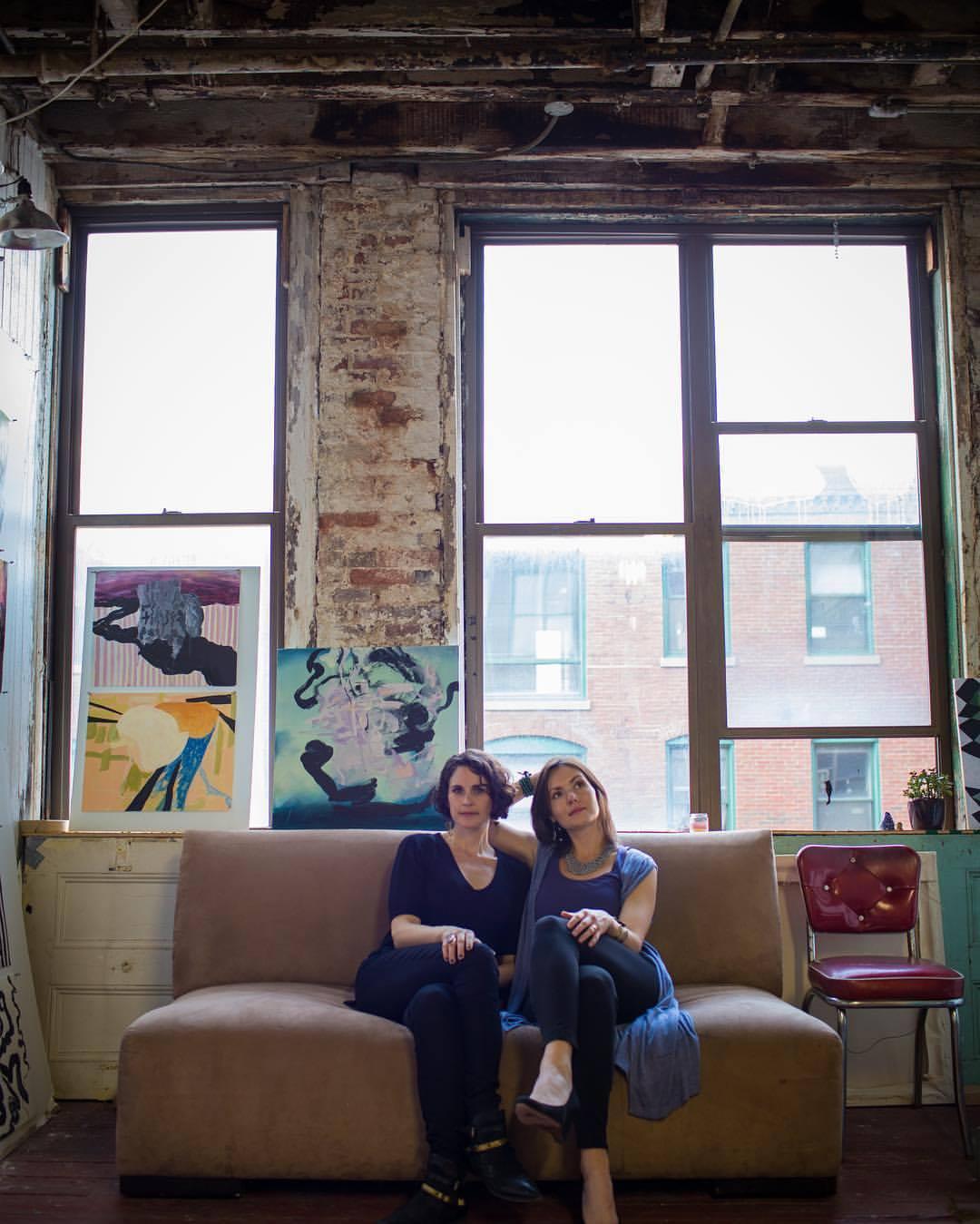 "Fotini Christophillis and Olga ""OLYA"" Kisseleva  Photo Credit: Elly Vadseth"