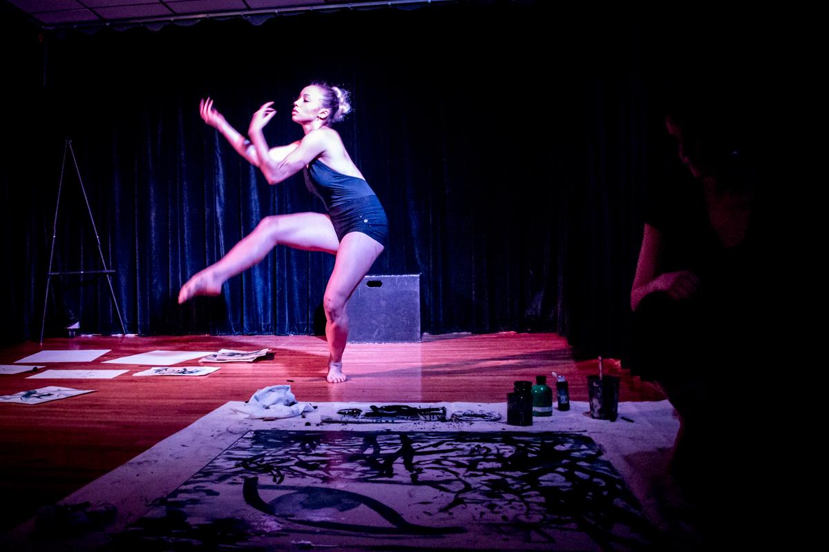Odessa Anderson, dancer / Fotini Christophillis, painter