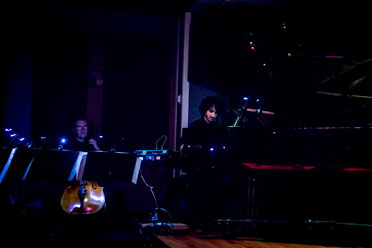 Pedro Osuna Ardoy, composer and piano / Parker Ousley, Cello