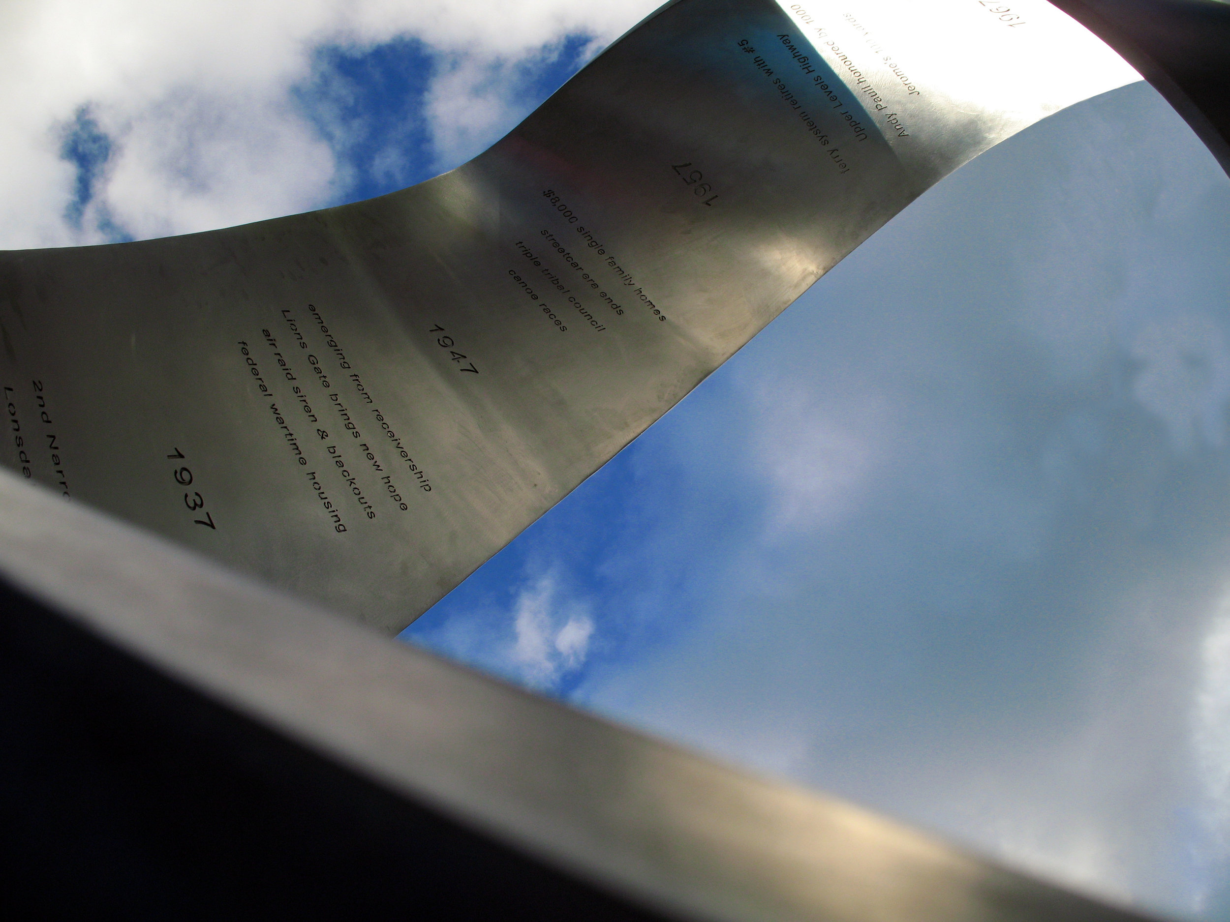 'Continuum', Katherine Kerr, 2006, Civic Plaza, North Vancouver