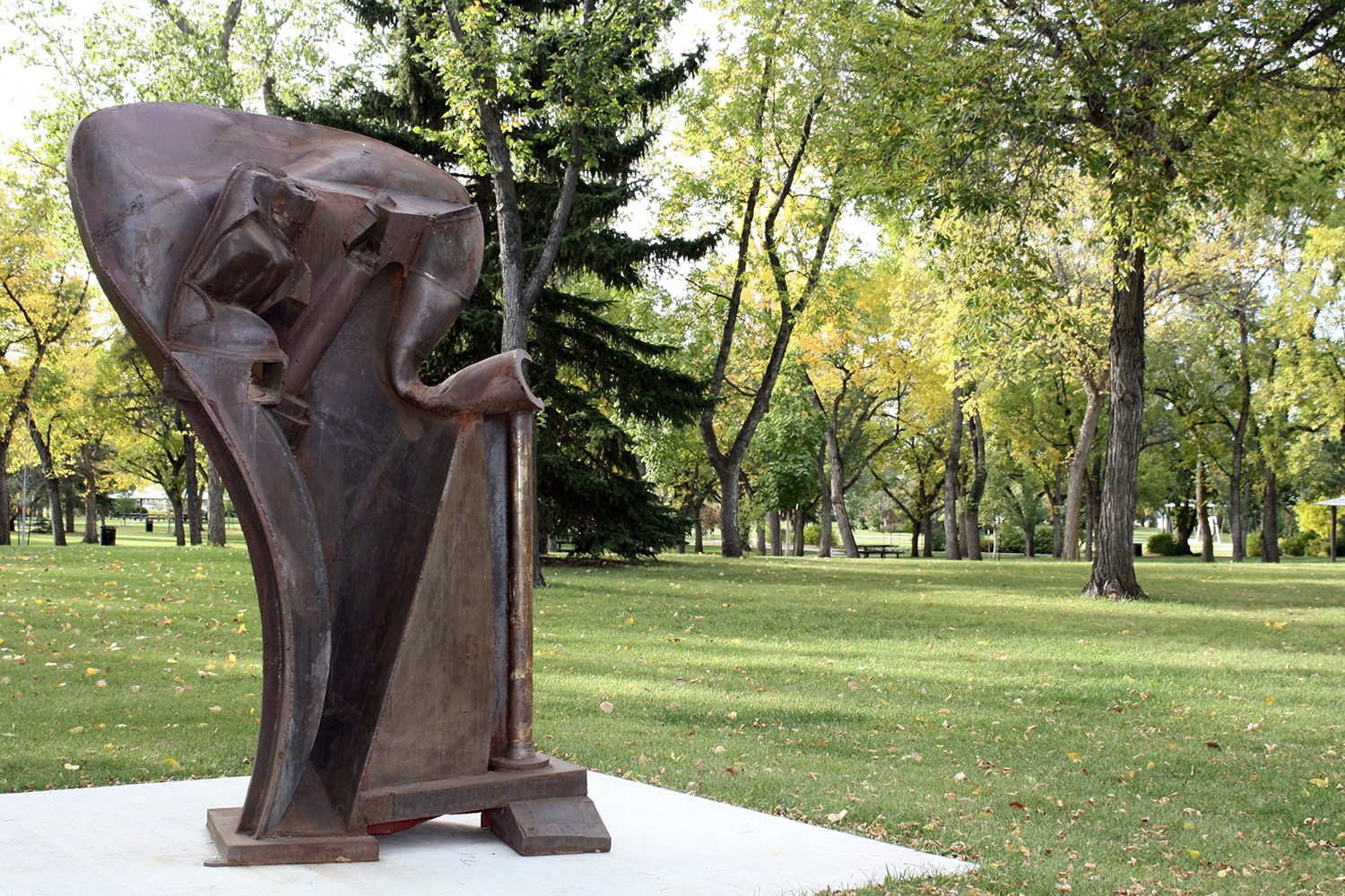 Gaekwar of Baroda , Peter Hide (1999), Inaugural Sculpture Exhibition 2014-17, Borden Park Edmonton