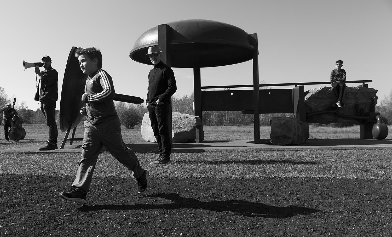 Resonant Progressions, Royden Mills 2017, Terwillegar Park, Edmonton