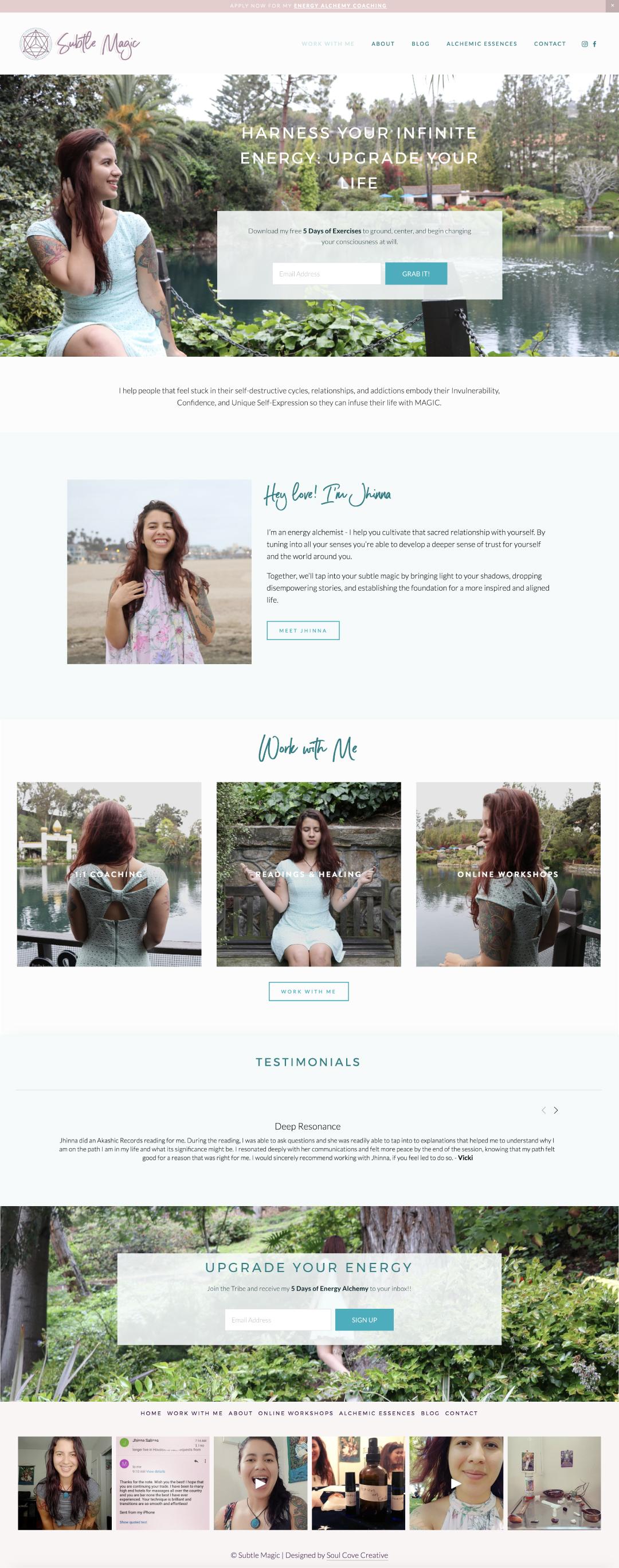 Website Jhinna