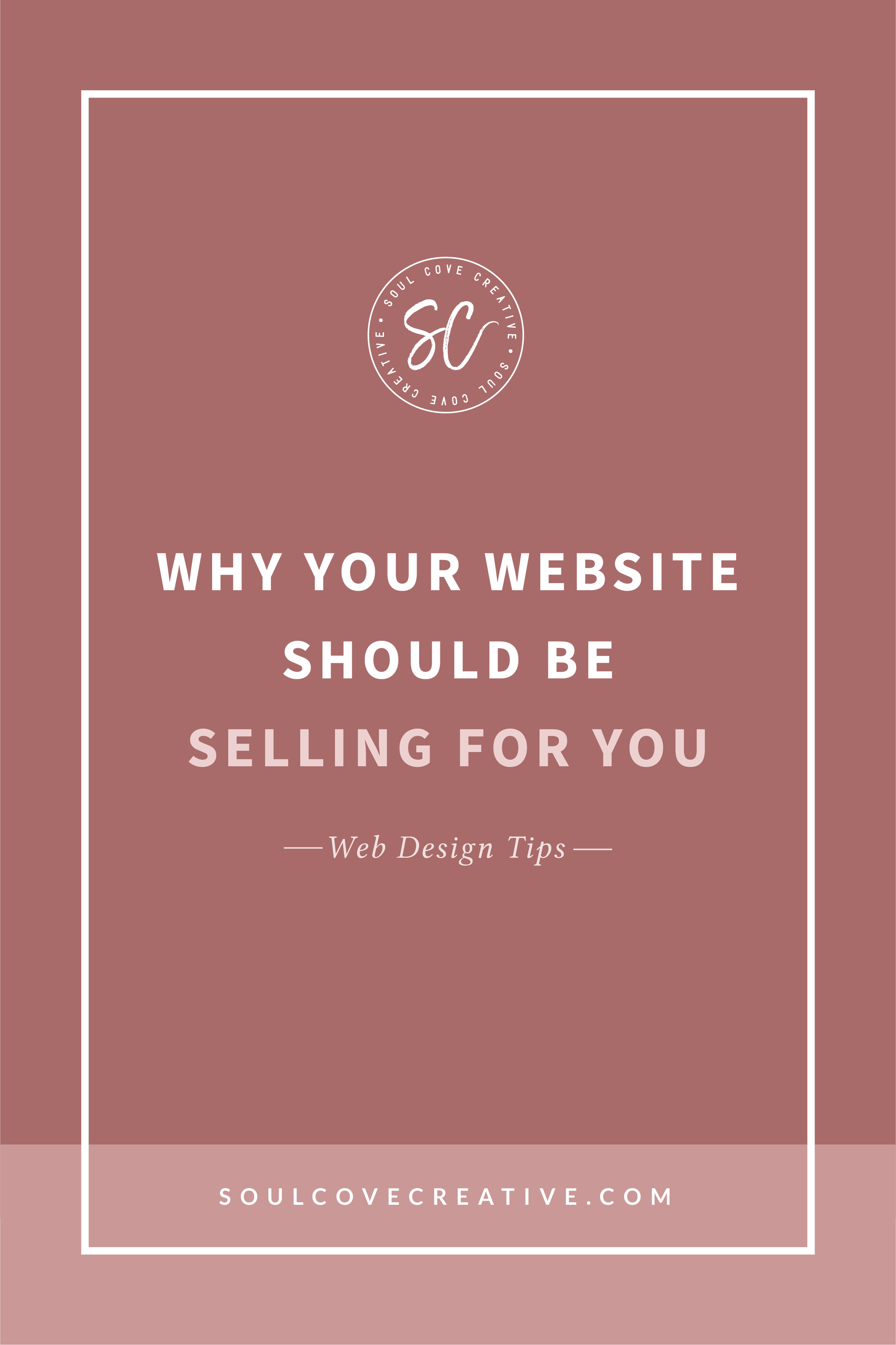 Why your website should be selling for you