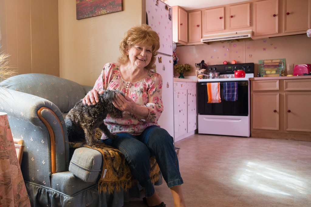 """""""I'm a happy person. I'm happy with my friends and my pets and I love the Lord. Housing Assistance did a very good job with my repairs, you are very nice people, and I appreciate it more than I can say.""""  -Wanda Jumper"""