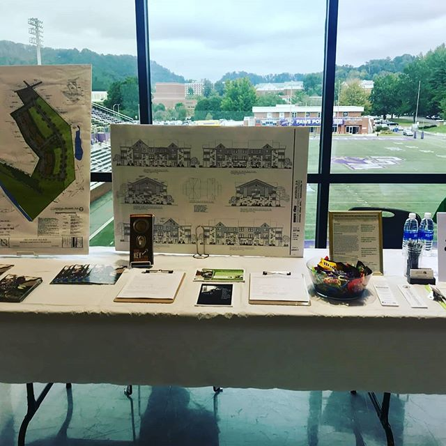 HAC is at Western Carolina's career fair today! Many of our staff happen to be WCU alumni- Go Cats! #affordablehousing #westerncarolinauniversity #wcucenterforservicelearning