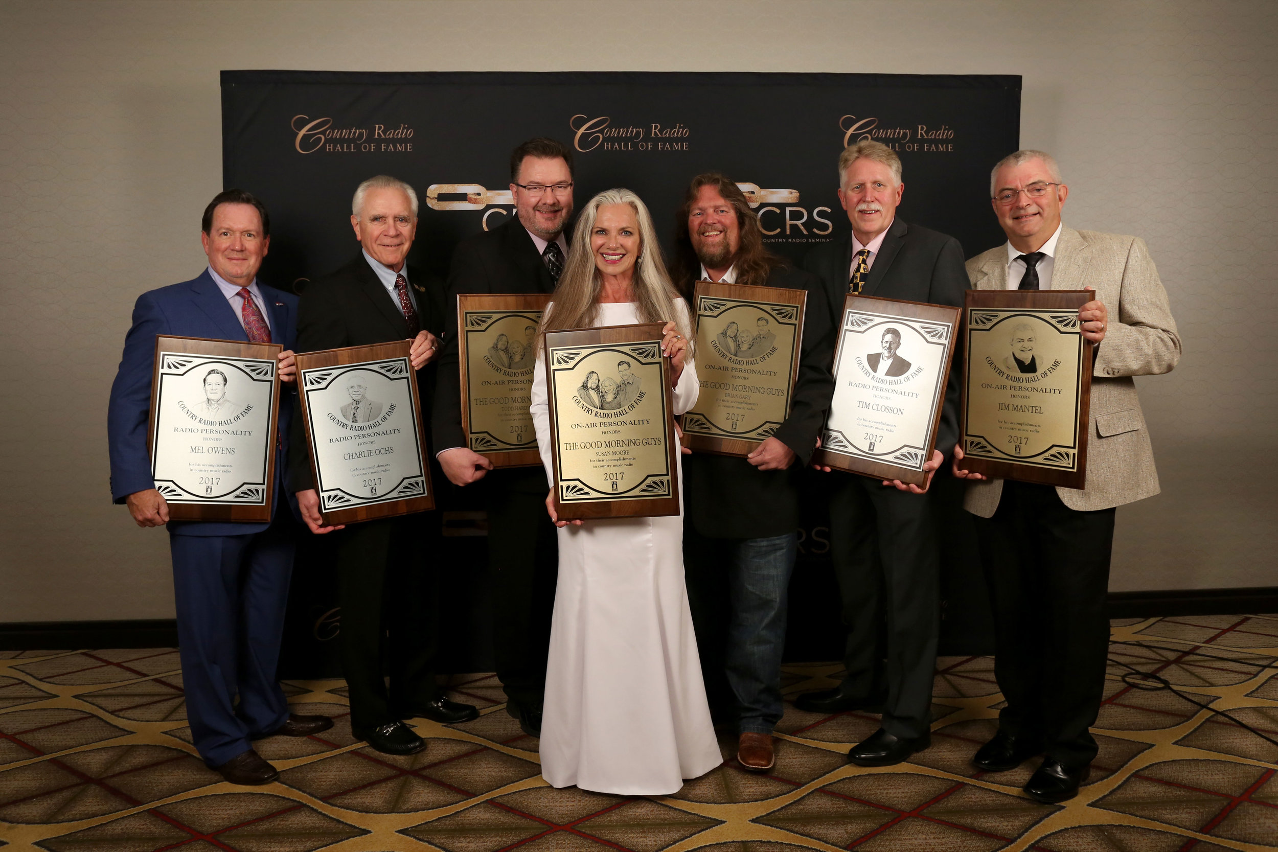 COUNTRY RADIO HALL OF FAME 2017 - June 21, 2017