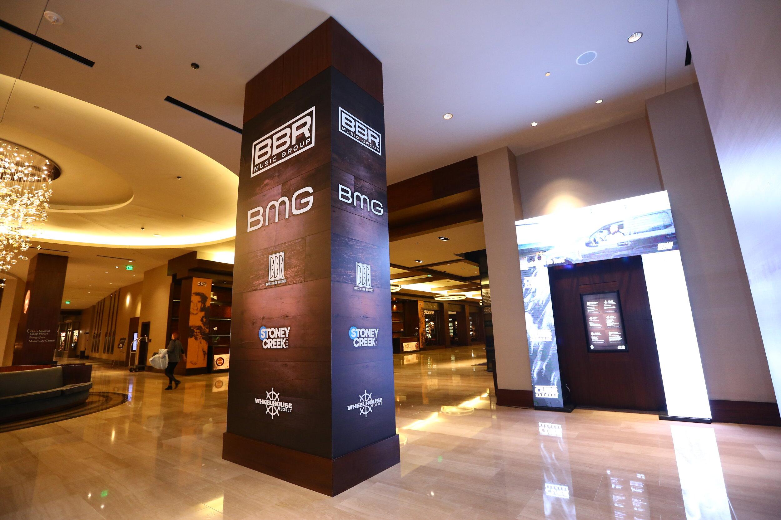 Lobby Column Wrap