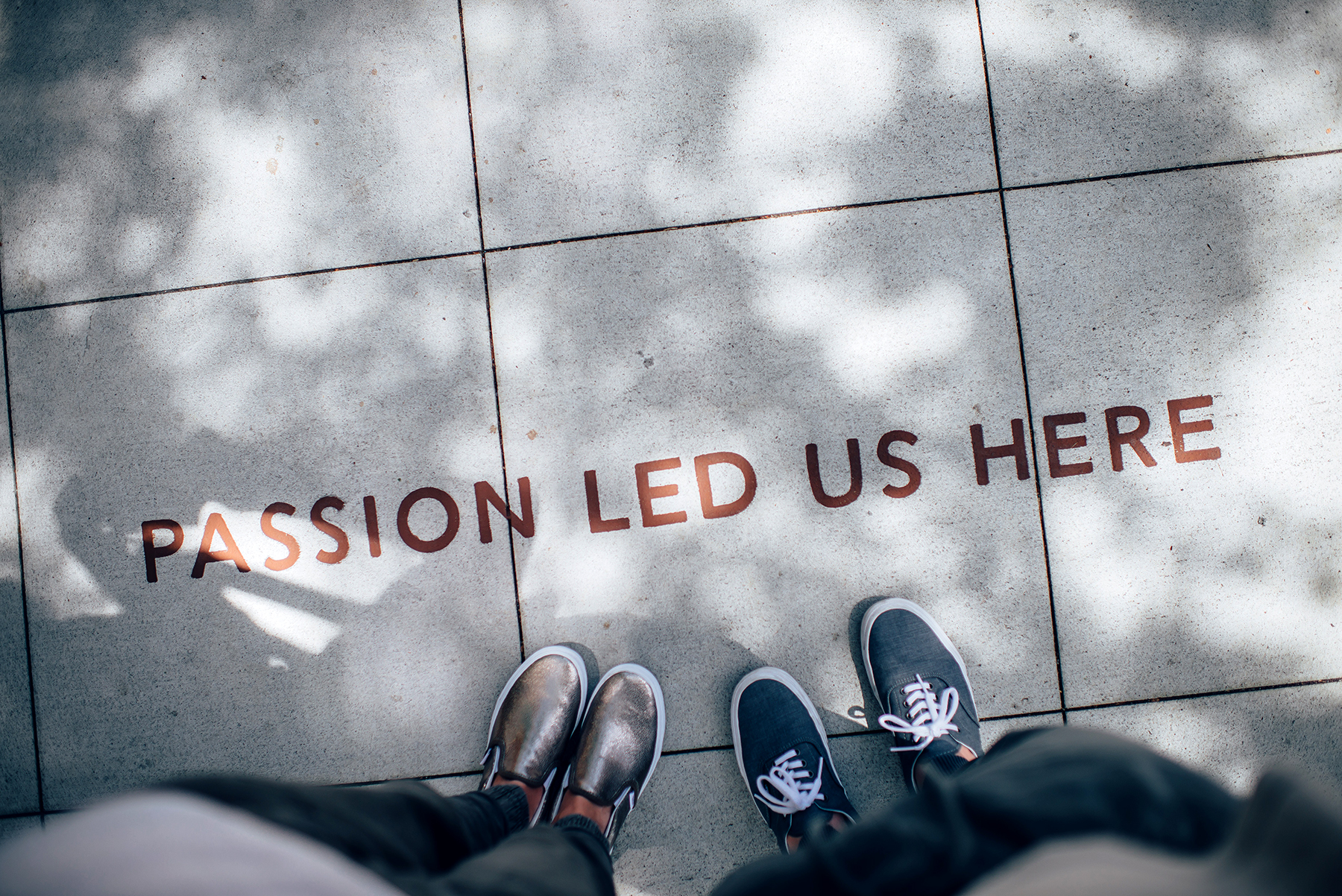 Passion led us here.