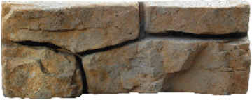 Ledgestone Face Texture - Up to 115 sq. feet of non-repeating texture and unlimited color options available.