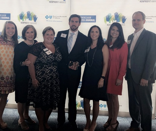 On Tuesday, June 12th, Red Mountain Grace was named the 2018 BBJ Nonprofit Award winner for the category consisting of organizations with an annual operational budget of $250,000-$500,000.