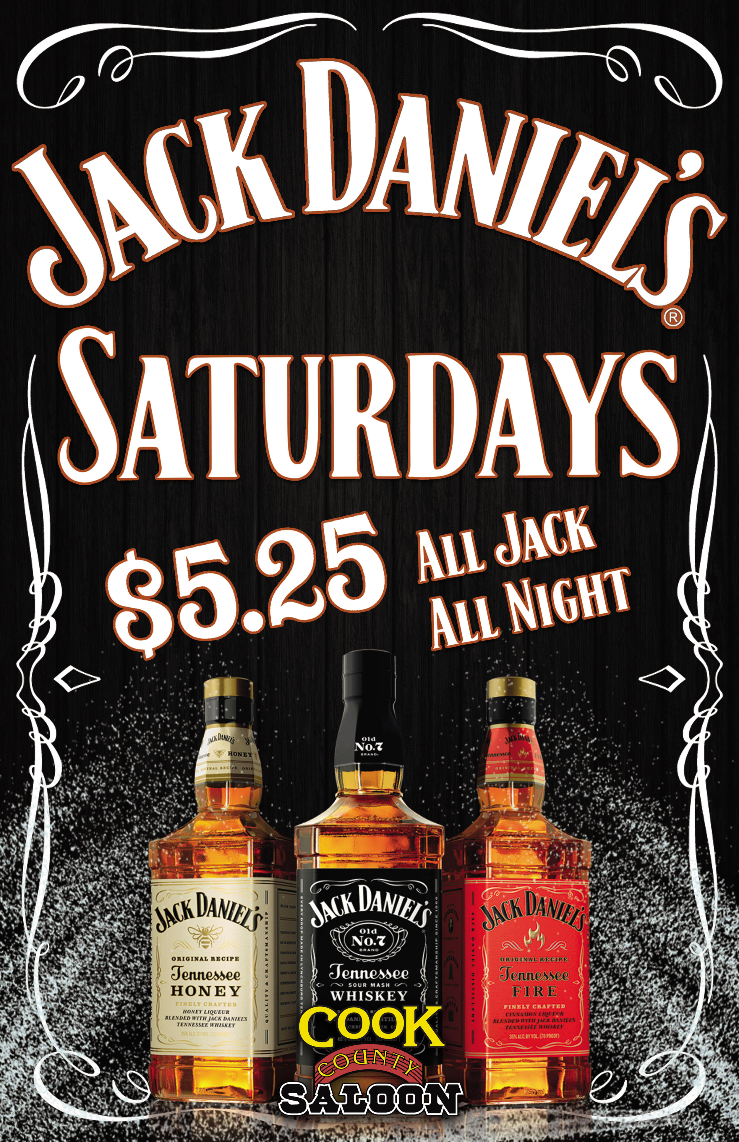 Serving Up The Coldest Jack Daniels in Edmonton! - $5.25 Jack Daniels no.7!$5.25 Jack Daniels Honey!$5.25 Jack Daniels Fire!$5.25 Tequila!Ready to book your package?