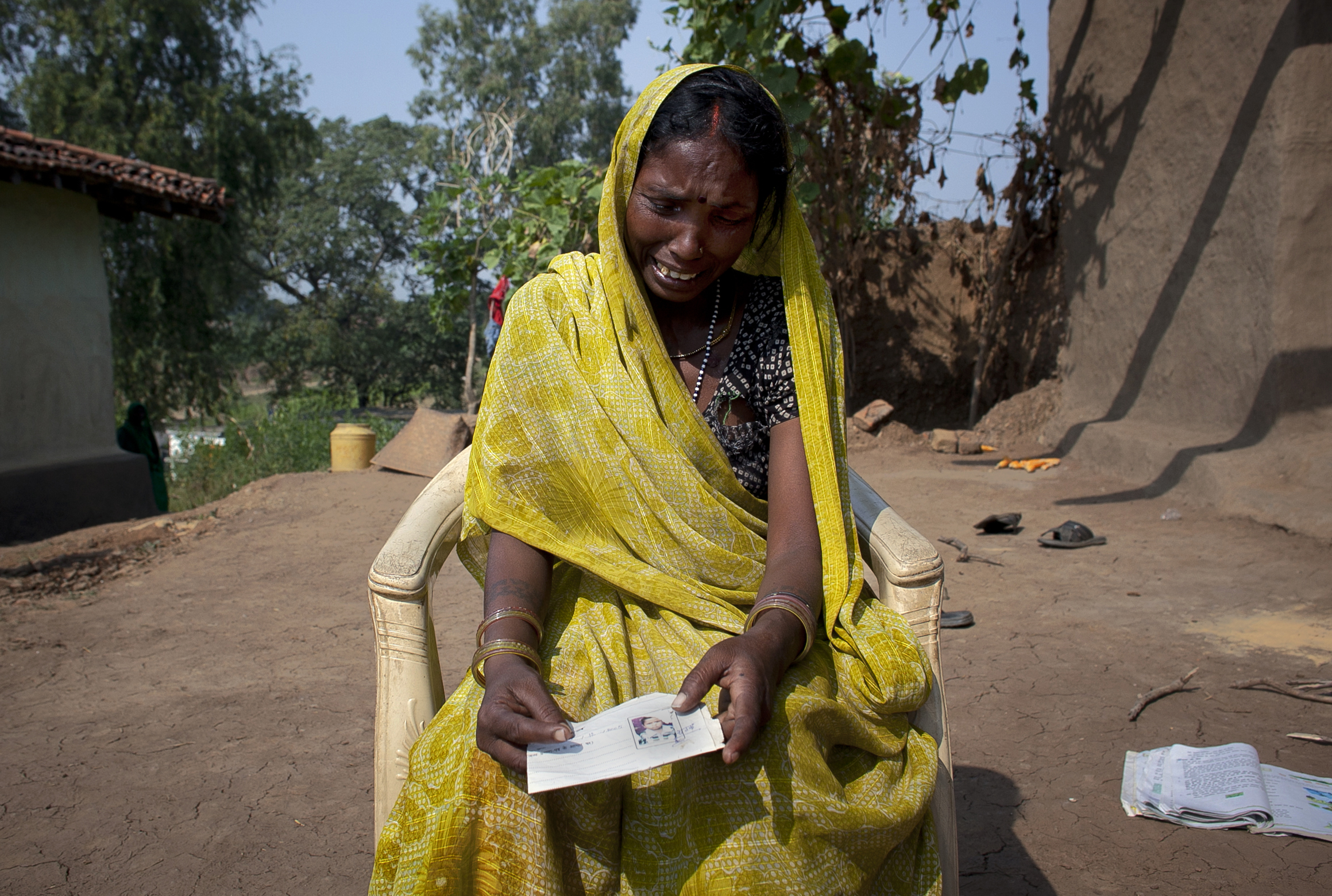 Client: Bloomberg Role: Assigning photo editor Photographer: Allison Joyce Story: Toxic waste in India creating birth defects and slowly killing a village.