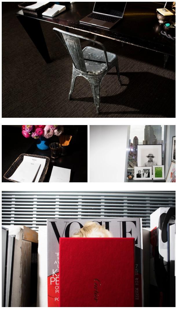 Anna Wintour's office at Vogue Photographer: Landon Nordeman