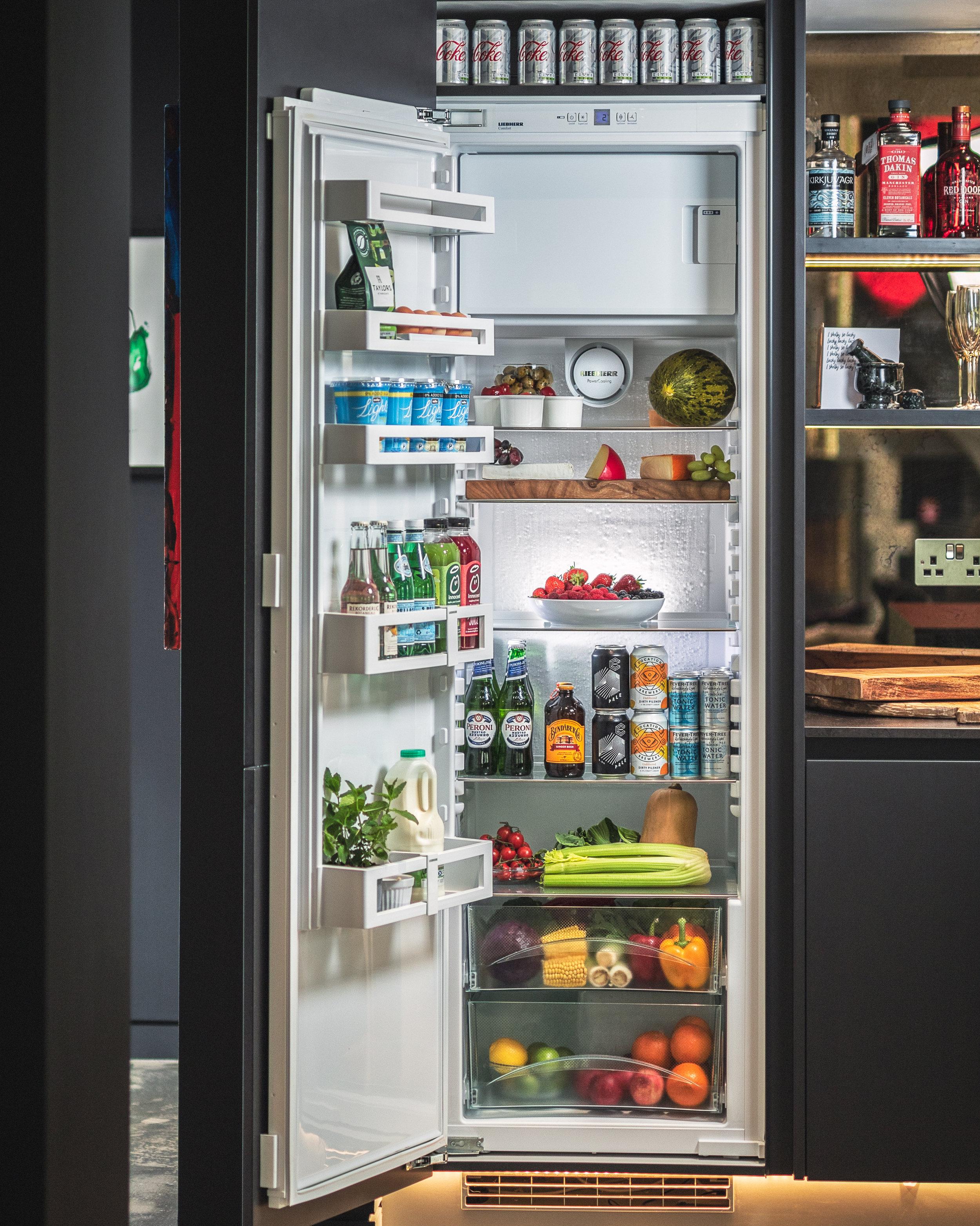 Liebher fridge - Commercial Product Photography. Glasgow based photographer. Portrait, corporate headshot, wedding photographer, interior photographer, commercial and content photography Scotland. Copyright @cursetheseeyes www.cursetheseeyes.com