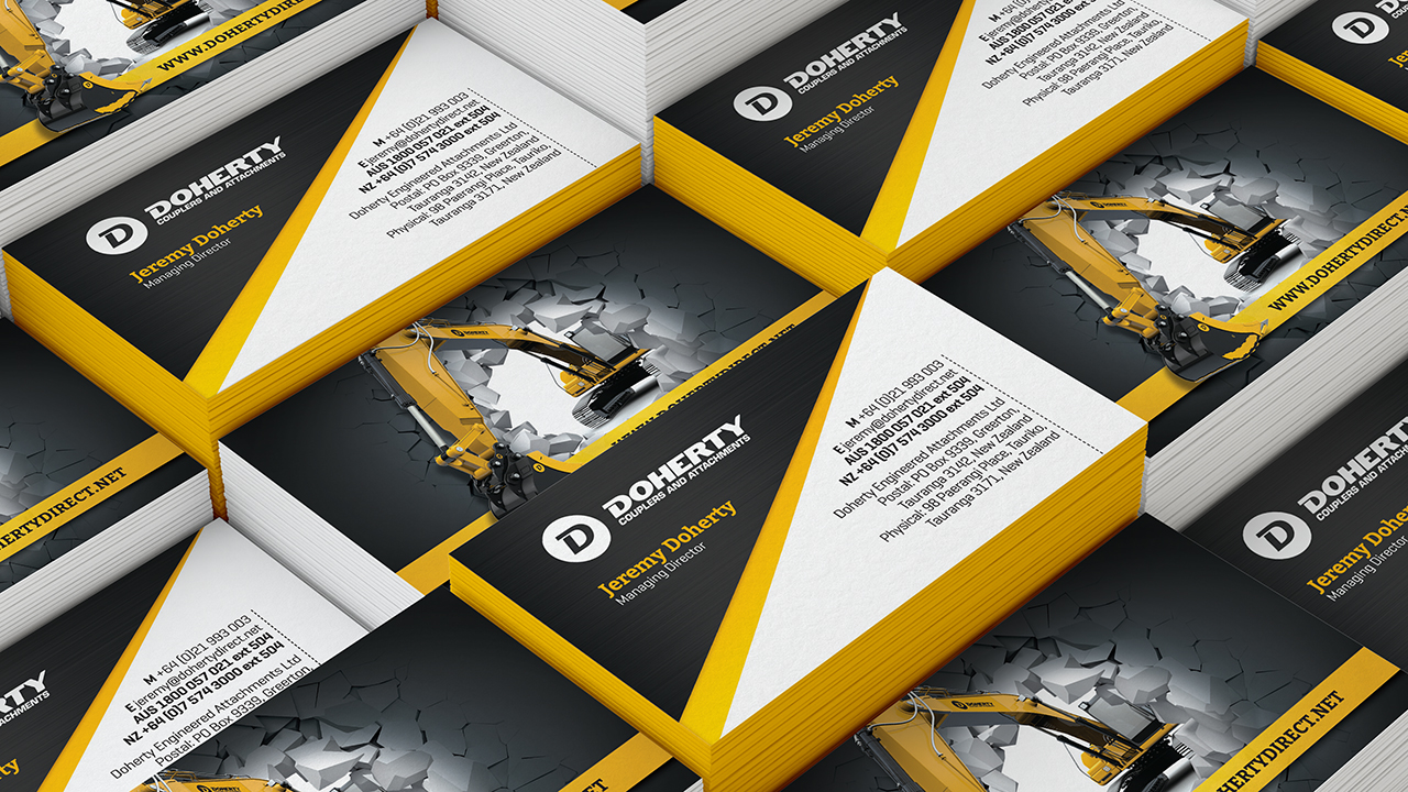 Doherty business cards