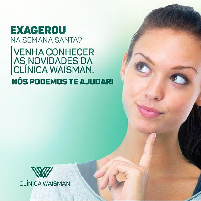 Venha conhecer as novidades da Clínica Waisman. Nós podemos te ajudar!  #bonshabitosdevida #clinicawaisman #drwaisman #emagrecercomsaude #emagrecimentointeligente #emagrecimentosustentável #metododrwaisman #prevencaosefazcombonshabitos #qualidadedevida #saude #vida #vidasaudavel