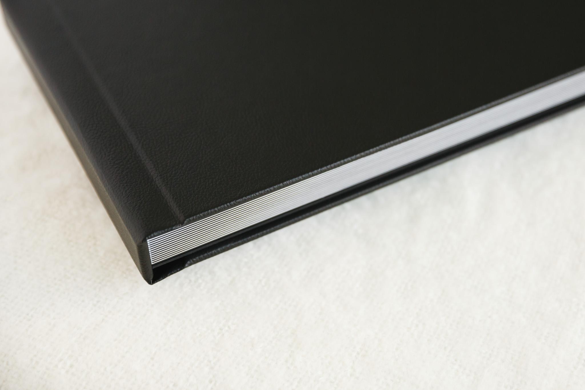 Album with Black Premium Leather