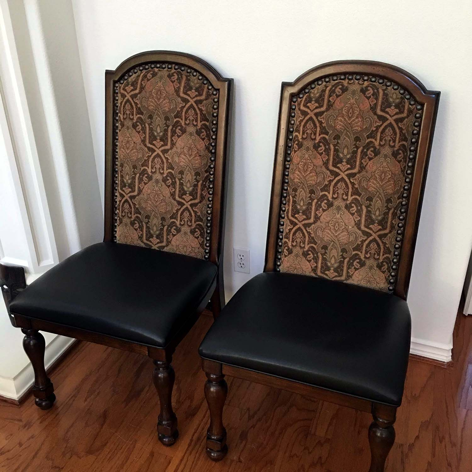 Two Additional Side Chairs    $179