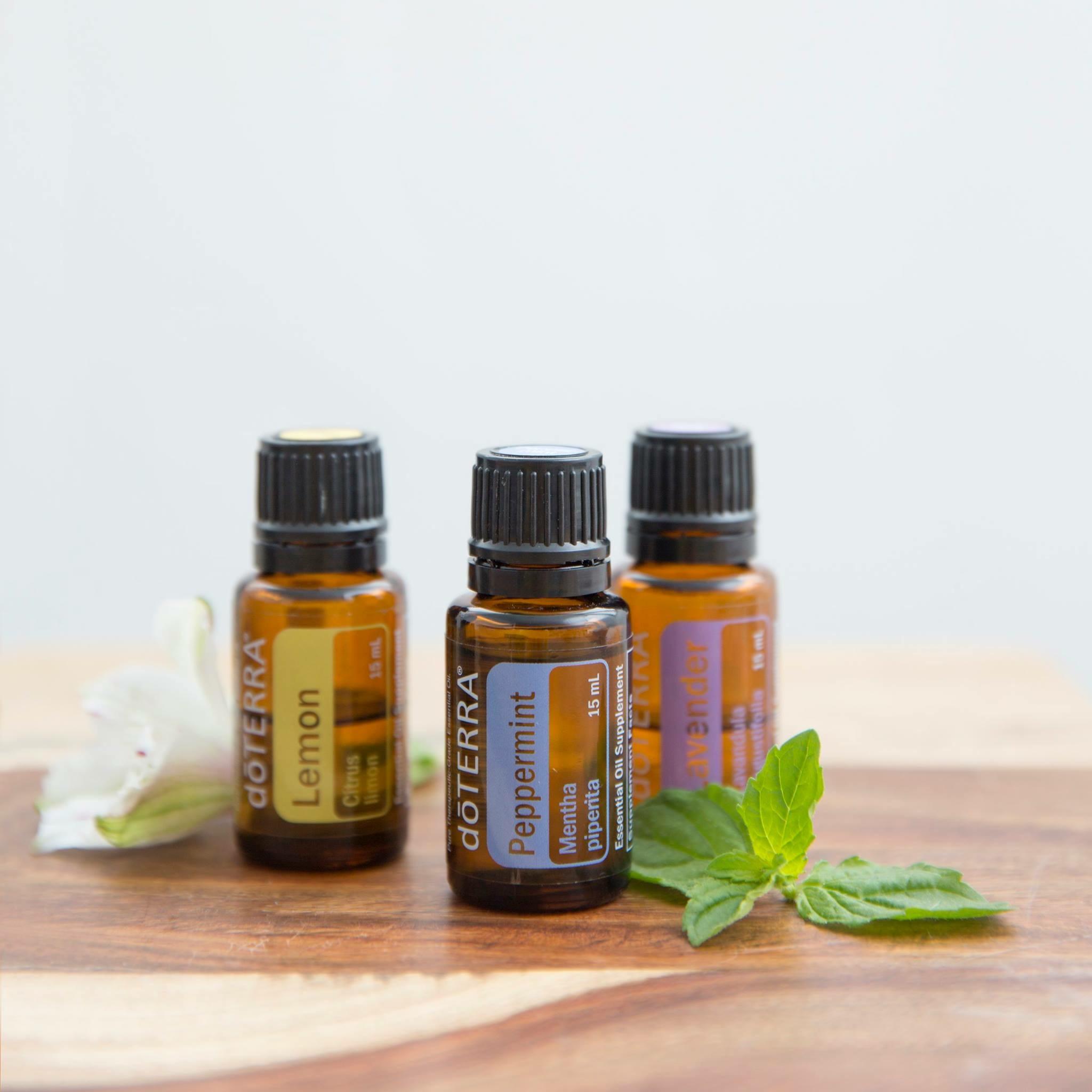 Trilogy - Lemon, Lavender, Peppermint