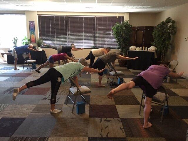 Chair Yoga at AZ Healing Center