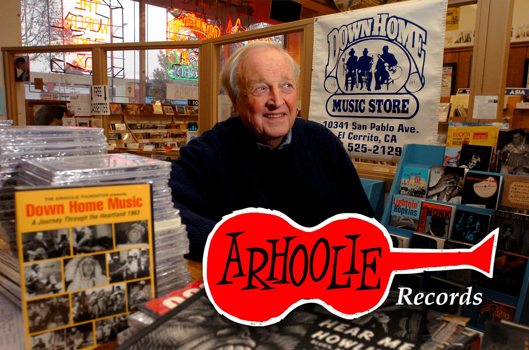 The Smithsonian acquired the Arhoolie label from Chris and his partner Tom Diamant in 2016 to assure that his recordings would survive and remain available to future generations.