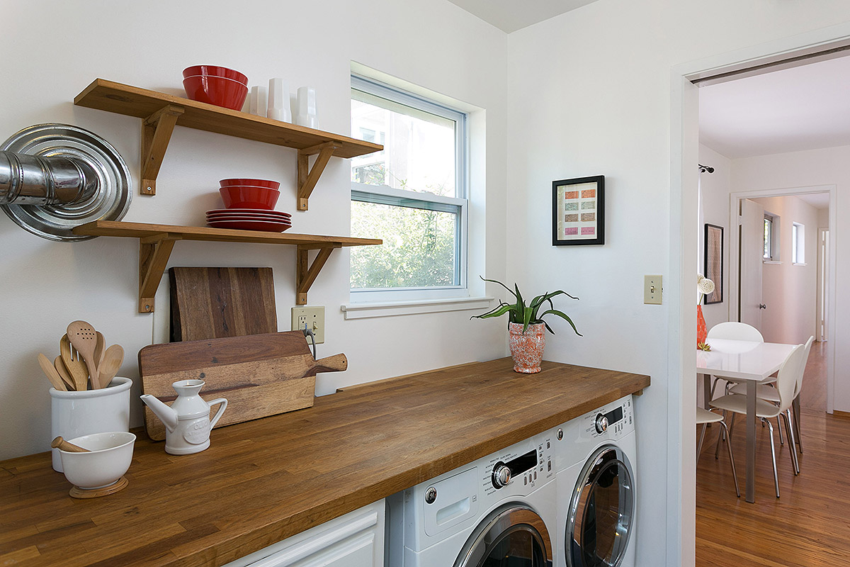 SUNNY-SIDE-UP INTEGRATED LAUNDRY