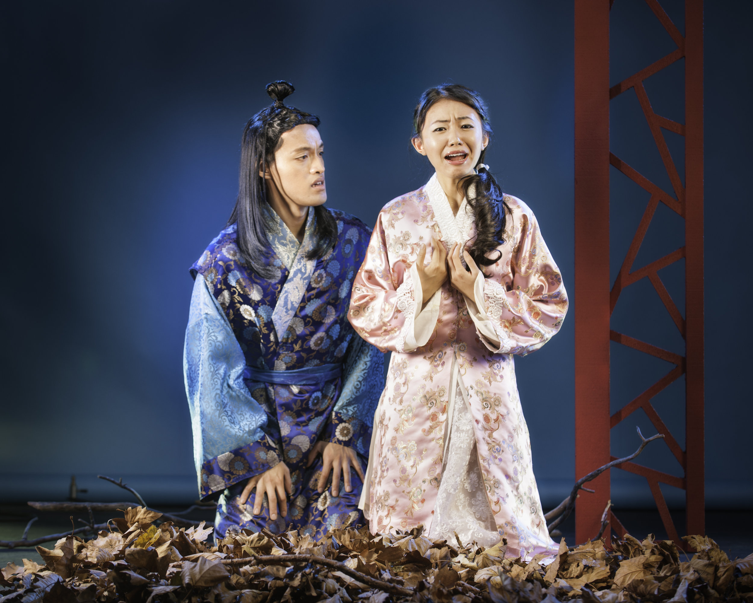 Vichet Chum and Kelsey Wang in Pan Asian Rep's A DREAM OF RED PAVILIONS photo by Micheal Blase PRINT.jpg